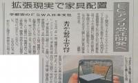 【 AR EC Interior Fnet 】 Shimotsuke Newspaper in Tochigi. Media Coverage