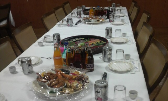Manners when invited to a funeral meal