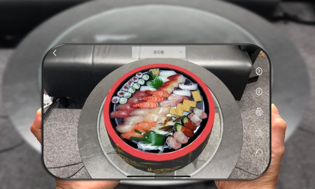 [ AR Food Menu Fnet ]will be released on August 1, 2021. Order food with AR! Development support service for cooking order tablets.