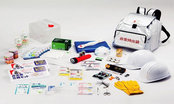 About useful disaster prevention goods and disaster prevention knowledge